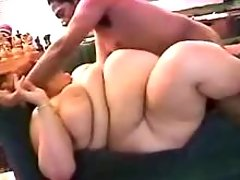 Chubby women fucked by spoiled guys in all holes