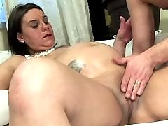 Pregnant cutie gredily sucks big cock