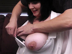 Guy gets lucky with a BBW brunette exploring all her sexy curves and holes